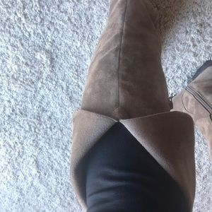 AEROSOLES Shoes - Aerosoles Suede Over the Knee Boots- NEW